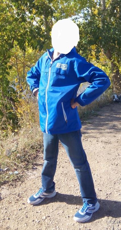 Ветровка на флисе. На мальчика рост | Объявления Орска и Новотроицка №28888