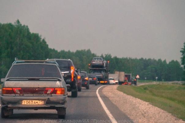 ✅ Реконструкция дороги Тула – Новомосковск: на пов...