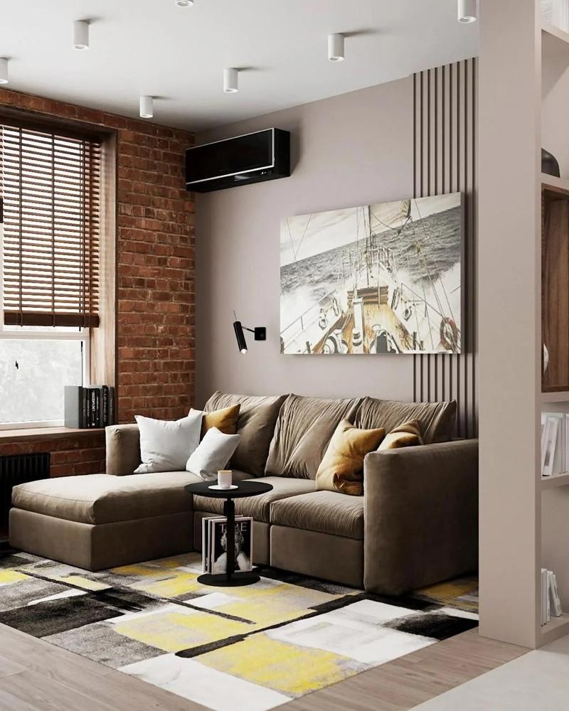 Дизайн-проект квартиры 30 кв.