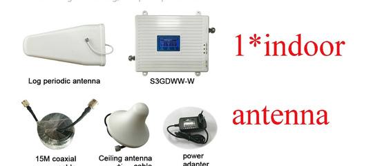 7005.93руб. 52% СКИДКА|Усилитель сотовой связи GSM 2G 3G 4G, трехдиапазонный усилитель мобильного си