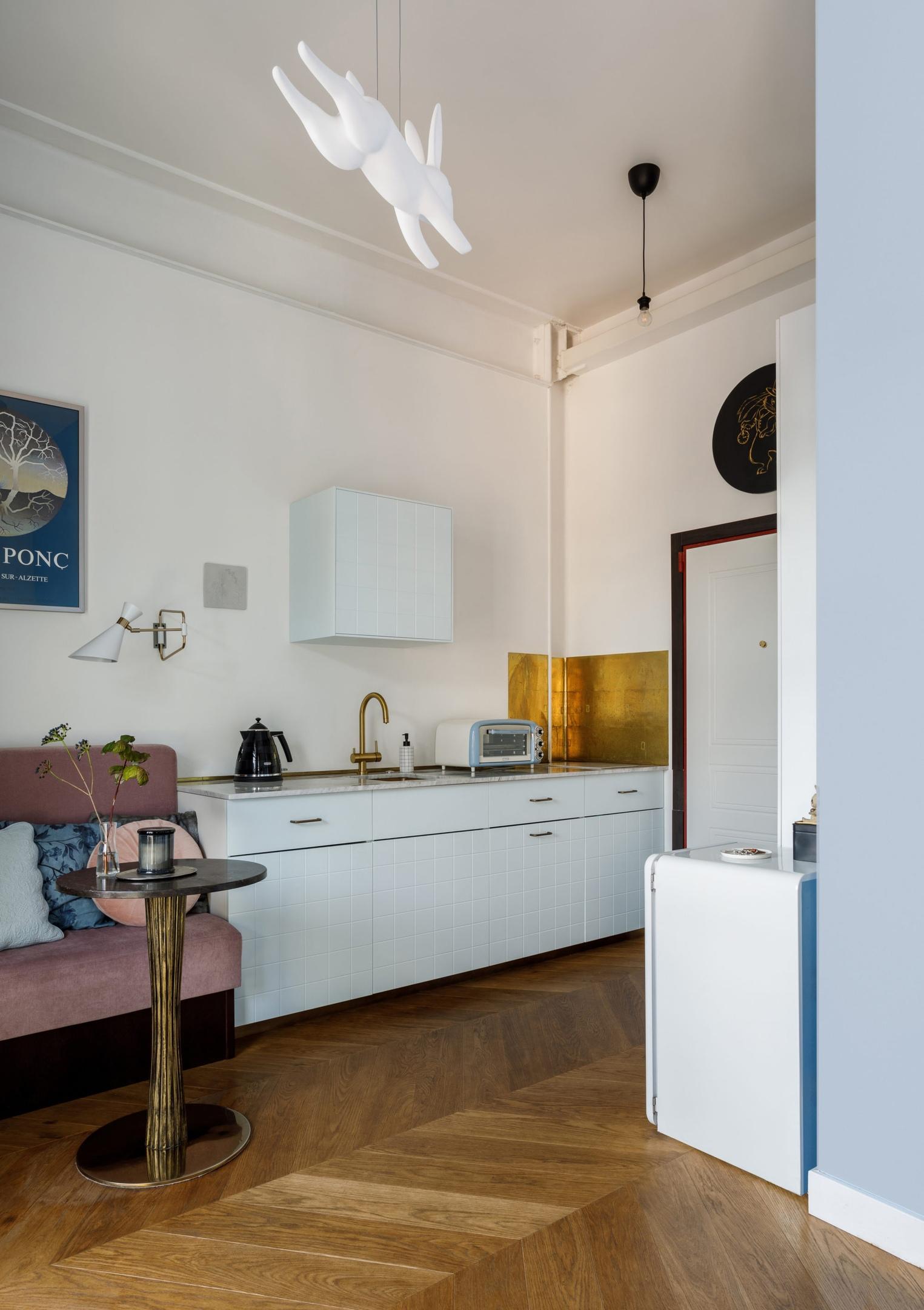 Маленькая гостевая студия 21 кв.