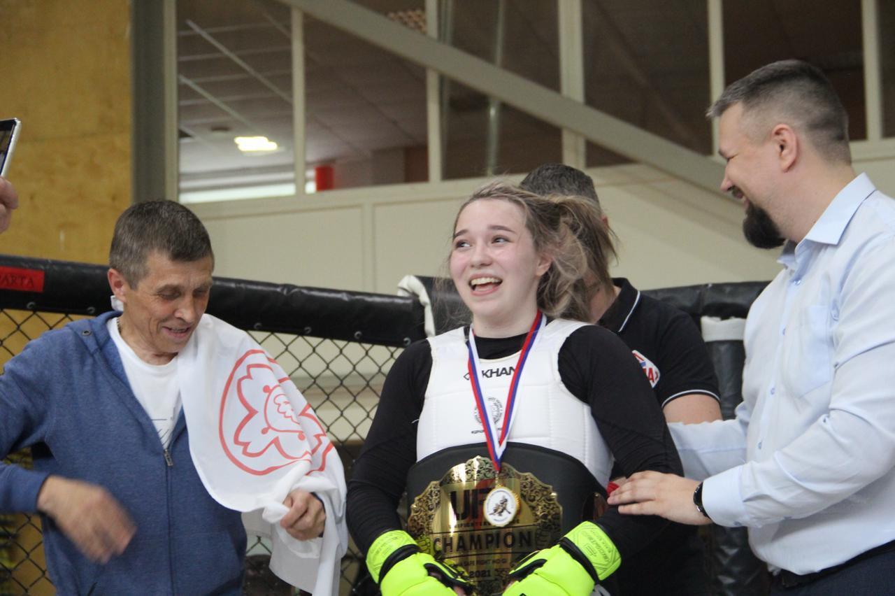 Поздравляем Татьяну Долматову с завоеванием титула чемпиона UFL