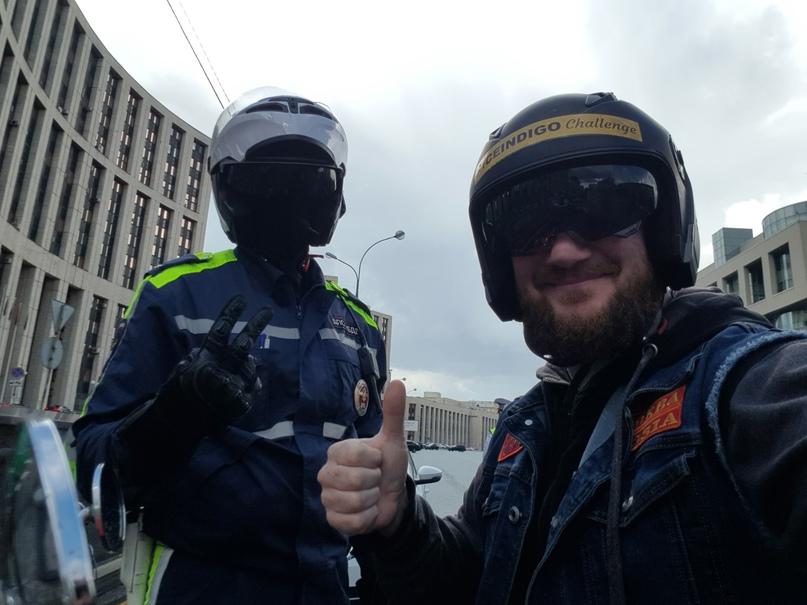Упс! Внезапно!))) Меня первый раз в жизни остановил мотобатовец!)🤪💯