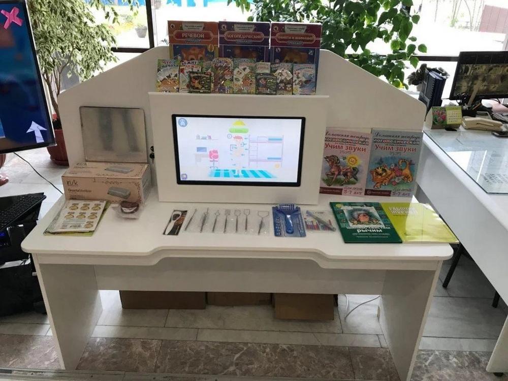 Профессиональный интерактивный стол логопеда