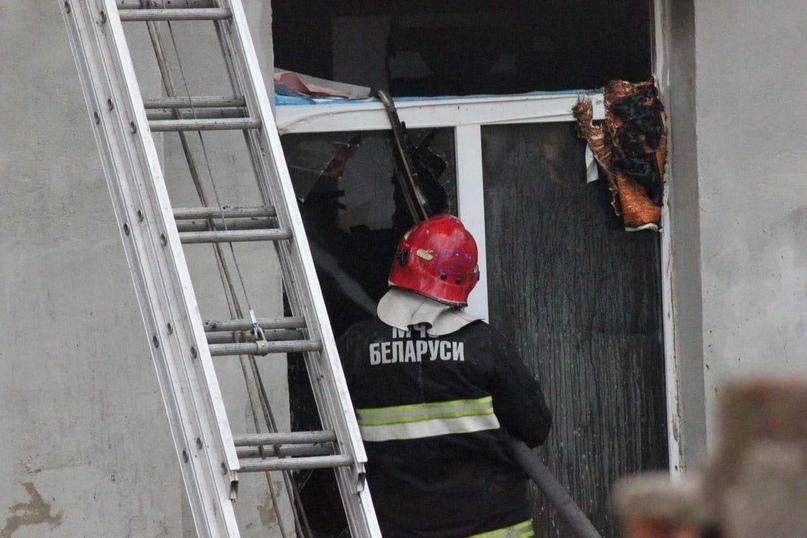 Россиянка погибла на пожаре в Борисовском районе