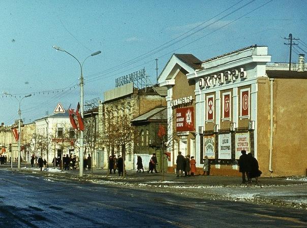 А вы знали, что на месте Макдональдса, который на Кировке, 30 лет назад работал кинотеатр.... [читать продолжение]