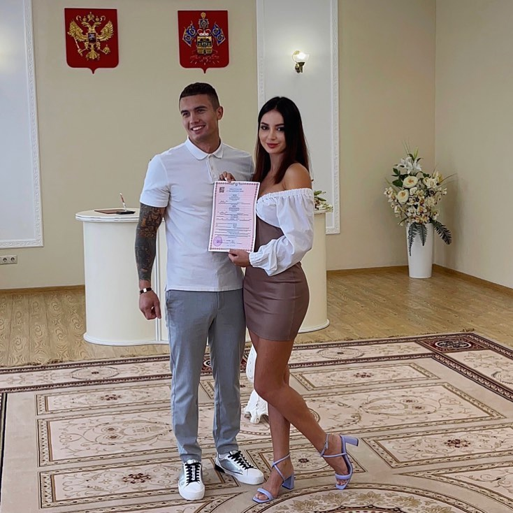 Иванна Хаврак и Олег Доленко поженились