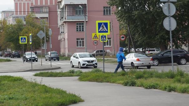 Водитель будь внимателен! На улице Исетская в Каме...