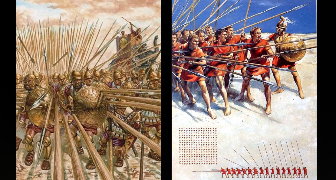 Обучение воинов в Македонии