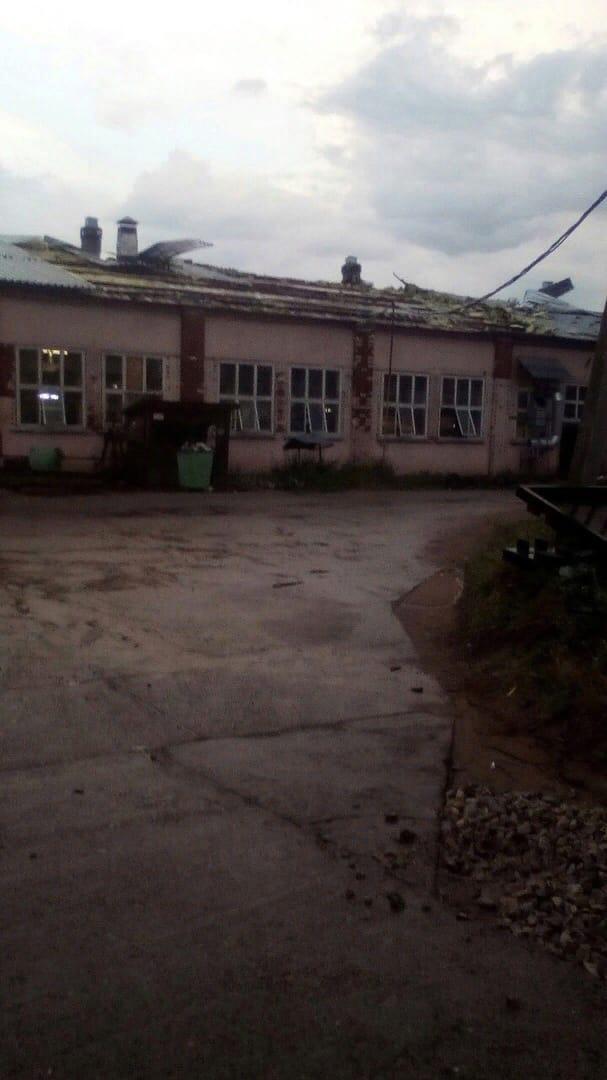 Вчера стихия бушевала в Увинском районеПоследствия на