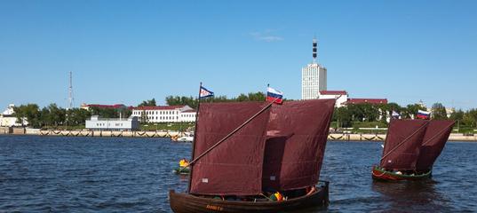 ВАрхангельске завершилась Поморская карбасная регата