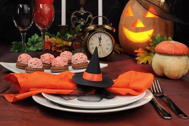Сервировка стола на Хэллоуин: стильно, оригинально и весело!