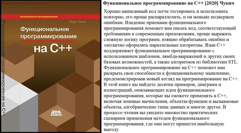 Функциональное программирование на С++ [2020] Чукич