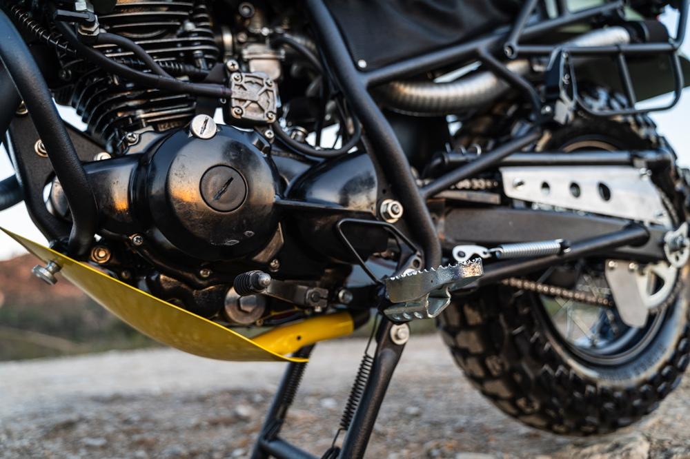 Кастом Yamaha TW125 Jumatsu TransWorld - двухколёсный джип