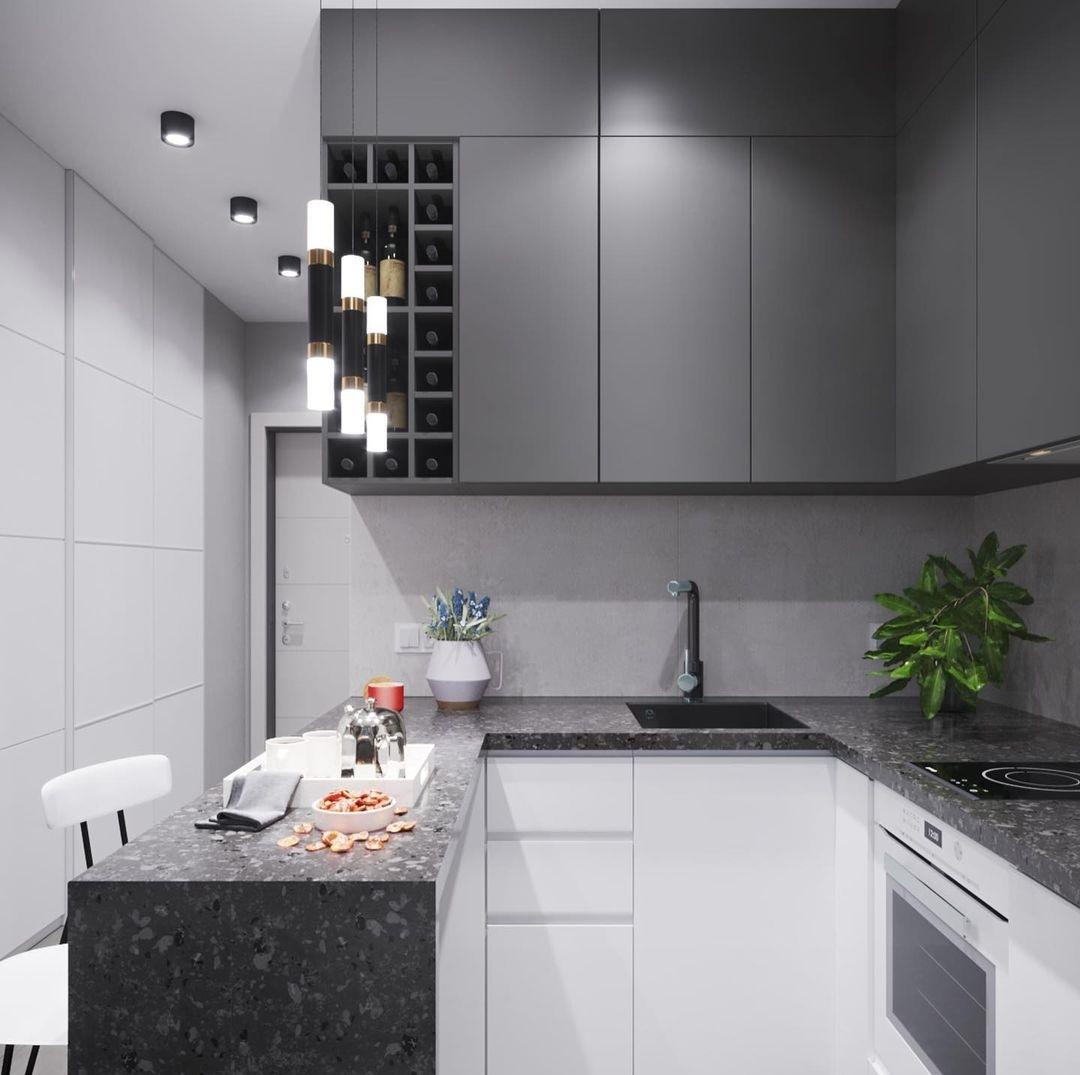 Проект компактной квартиры-студии 24 кв.