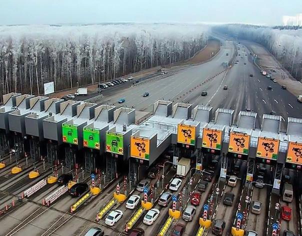 Все дороги в России предложили сделать платными  В...