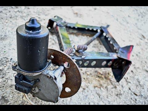12v DC Electric Scissor Car Jack Build at Home