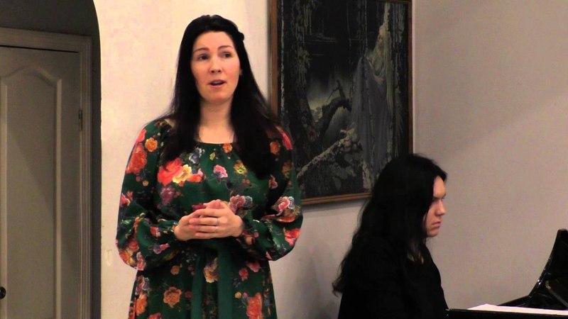Екатерина Ковалева меццо сопрано П И Чайковский сл А Толстого То было раннею Весной