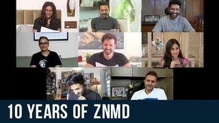 10  ЛЕТ СПУСТЯ...ZNMD Table Read | Hrithik Roshan | Abhay Deol | Farhan Akhtar | Katrina Kaif | Zoya Akhtar | Reema K