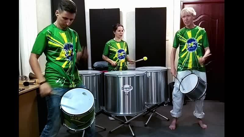 Olá amigos! Видео №12. Новая бразильская сбивка