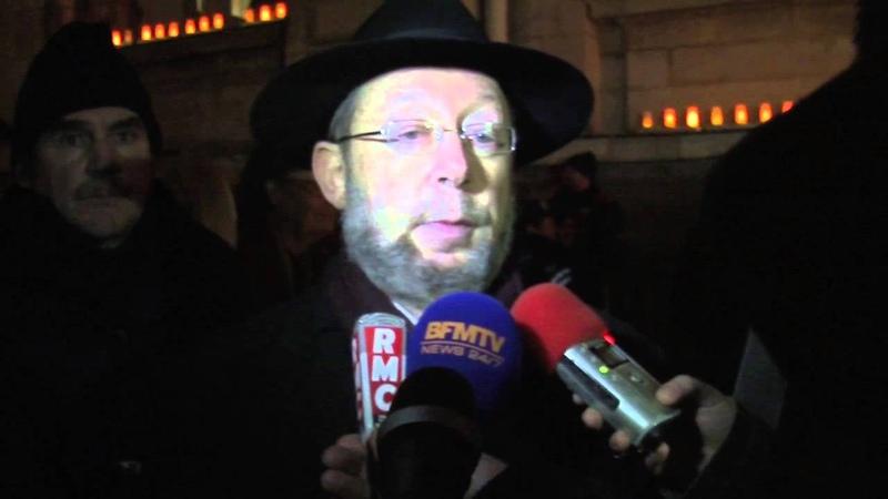 Attentat Charlie Hebdo Retrouvez la réaction du Grand Rabbin de Lyon
