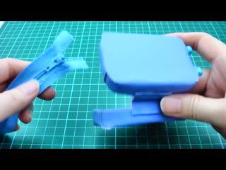 6 DIY miniature mini bags - backpack, handbag, trolley bag, luggage