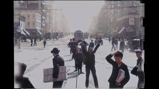 A Trip Down Market Street, 1906 - 4k, Colorized, 60fps