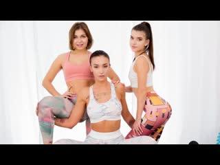 21Sextury - The Magic Of Yoga Pants / Hazel Dew, Mia Richi, Nata Paradise