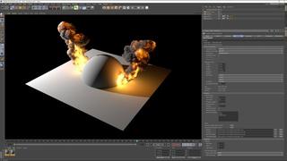 FumeFX 5.0 for Cinema 4D Workflow