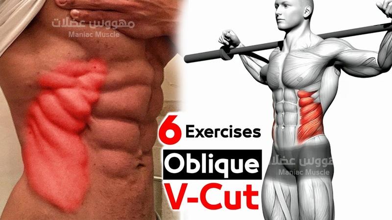 🧲 Oblique V Cut Abs Workout Best 6 at Home
