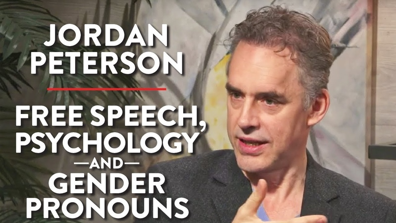 Free Speech Psychology Gender Pronouns Jordan Peterson POLITICS Rubin Report