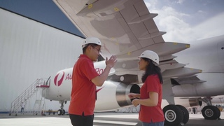 POST-А321(Australia):Meet our engineers behind the world's first A321 passenger-to-freighter unit
