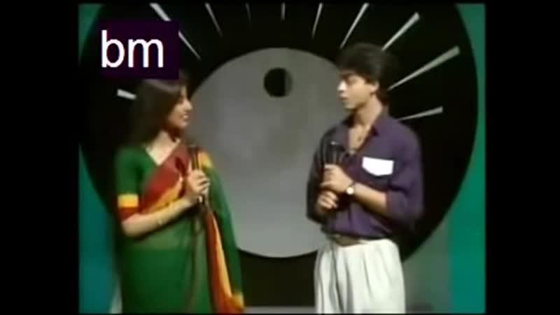 Rare Doordarshan Program Shah Rukh Khan and Kumar Sanu