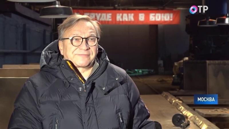В Москве прошли съёмки короткометражных фильмов о трудовом подвиге советского народа