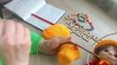 МК по вязанию игрушки Домовенок крючком. Автор И. Кистаева/Часть 4 /Шляпа.