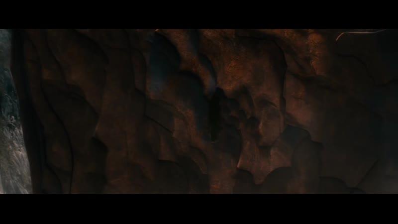 Леголас и Тауриэль добрались к горе Гундабад. Леголас рассказывает о своей матери.