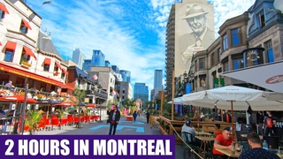 Walking in Downtown MONTREAL QC Canada | 2-Hour Virtual Walk Tour 2020