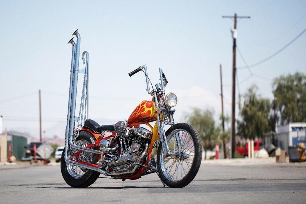 Bones Legacy: чоппер Harley-Davidson VL Panhead