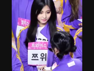 I love how nayeon always tries to get tzuyus attention and affection but tzuyu gives her all the attention she needs everytime s