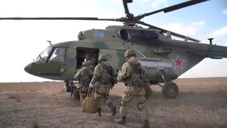 Отработка практических действий десантными подразделениями «нового типа» в ходе СКШУ «Кавказ-2020»