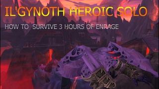 Blood-DK vs  Il'gynoth, Corruption Reborn HEROIC Solo