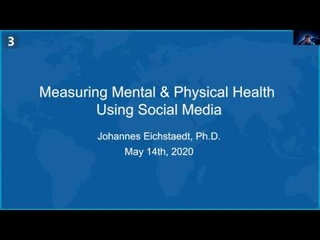 CS 472 Lecture 6: NLP analysis of COVID-19 information on Twitter and FB