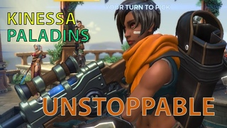 Unstoppable (x7) Kinessa Paladins Gameplay Indonesia