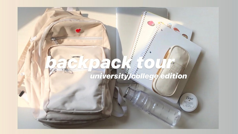 What's in my backpack 🎒