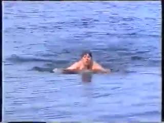 Юрий ХОЙ Клинских (Сектор Газа) отдых на природе. 27 июля 1998