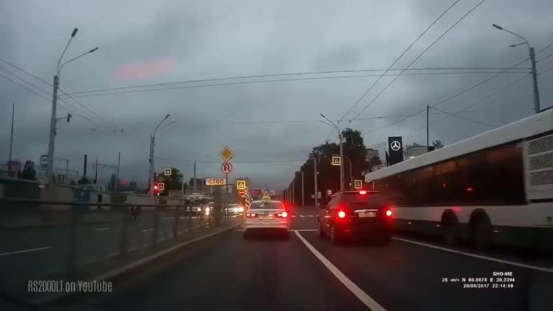 Форсаж в России Петербург погоня за черным Toyota Land Cruiser полная версия