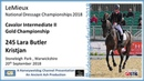 LeMieux National Dressage Championships Lara Butler Kristjan