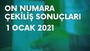 On Numara Sonuçları Belli Oldu 1 Ocak 2021