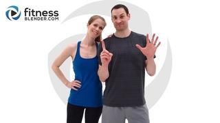 FitnessBlender - 1000 Calorie Workout - 90 Minute Total Body Strength, HIIT, Kickboxing, Pilates, and Core Workout | Кардио + сила + кикбоксинга + упражнения на кор