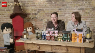 Visit LEGO Harry Potter Diagon Alley with James and Oliver Phelps